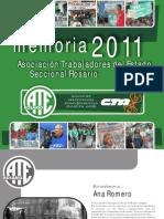 Anuario Ate Rosario 2012 - Memoria 2011