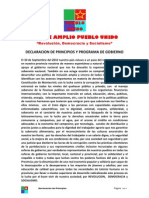 FA PU Declaracion de Principios 2012-02-29