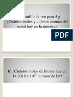 Clase 1 Quimica II Ejercicios