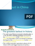 Bailout in China