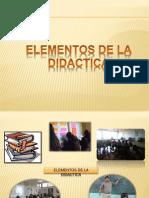 ELEMENTOS DE DIDACTICA