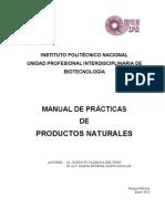 Manual de Productos Naturales
