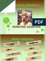 Presentacion Miguel de Cervantes Saavedra 03032012