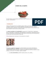 PLANIFICACIÓN Y DISEÑO DE LA HUERTA