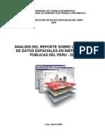 La Gestion de Datos Espaciales en Instituciones Publicas Del Peru - 2005 (1)