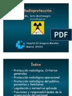 Afiche Radioprotección