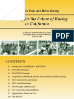 Planning for the Future of Horse Racing in California-Mar 08- Christopher Korby, Author