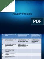 Industry Practice(1)