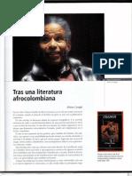 Tras Una Literatura Afrocolombiana