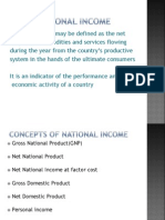 National Income - Concepts