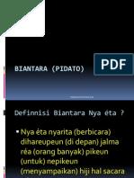 BIANTARA (PIDATO)
