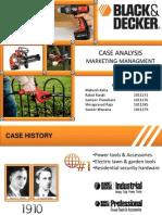 38833812 Case Analysis Black Decker Group 1