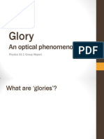 Glory- Phsics 32.1 Report