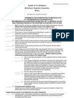 Checklist Accreditation First Timer
