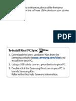 Manual Samsung Wave y