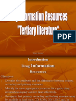 Tertiary Resource
