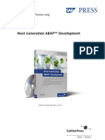Next Generation ABAP Ch5