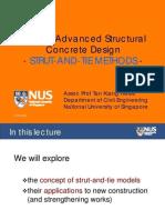 5-Strut & Tie Methods