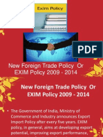 EXIM Policy 2009-2014