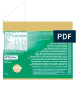 label - fiber supplement