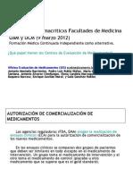 Jornadas Farmacriticxs UCM-UAM 2012, Formacion médica independiente