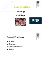 PPT on Childhood Disorders