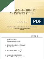 Efecte termoelectrice