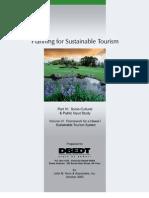Sustainable Tourism System Framework