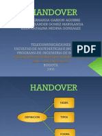 Handover