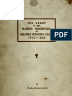 Elizabeth Lindsay Davis--The Story of the Illinois Federation of Colored Women's Clubs (1922)