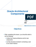 Oracle Architecture Components