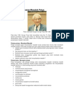Model penyelesaian Masalah Polya