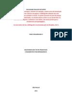 Relatorio Diagnostico em Psicopedagogia FPA Isaac II
