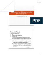 Classification and Measurement of Financial Assets