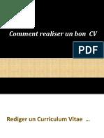 adaptez le contenu de votre CV à la