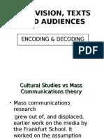 6. Television (Encoding & Decoding)