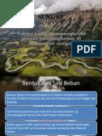 SUNGAI-Faktor Yg Mempengaruhi Proses Pengangkutan Alur Sungai