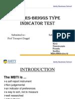 MBTI Final Ppt