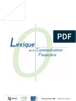 Lexique Comm Financiere