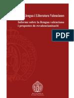 RACV Informe i propostes de revalencianisació 2012