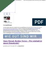 Staatschutz - NPD - Rechter Terror - Wie Wehrhaft Ist Unsere Demokratie - Spiegelfechter