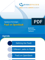 PaaS on OpenStack