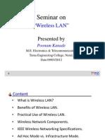 Wireless Lan PoonamK