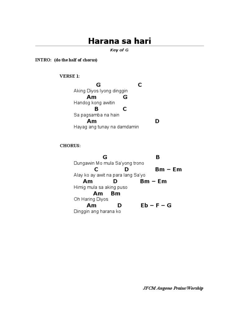 Famous Harana Guitar Chords Pictures Heavy Square