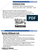 Supply Chain Management of Nestle