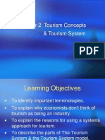 Chapter 2 Fundamental Concepts & Tourism System