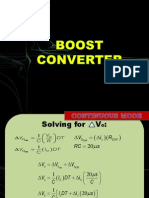 Boost Converter Examples