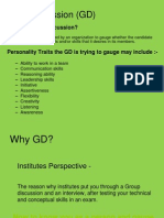 Group Discussion tips