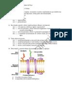 Membrana Plasmática e Parede Celular