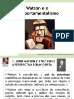 Watson Behaviorismo